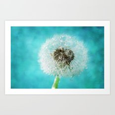 dandelion-one Art Print