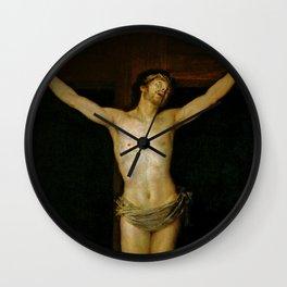 "Francisco Goya ""Christ Crucified"" Wall Clock"