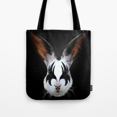 Kiss of a Rabbit Tote Bag