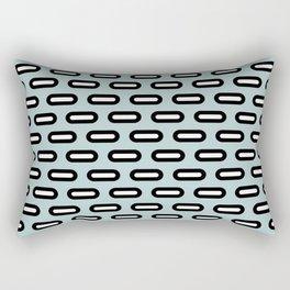 Geometric ellipses pattern Rectangular Pillow