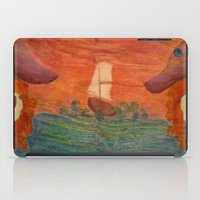 pirates iPad Cases featuring Pirates  by CataBeja Umaña Azul