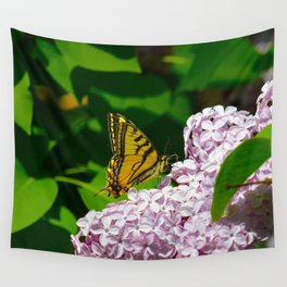 Pollination - Series; 1 of 3 Wall Tapestry