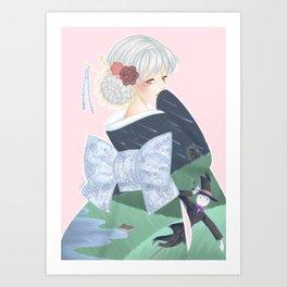 Sophie - Howl's moving castle Art Print