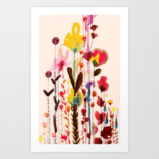 viva glow Art Print