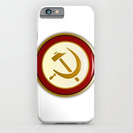 Russian Pin iPhone Case