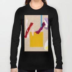 Untitled (Abstract Composition 3) Long Sleeve T-shirt