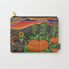 Happy Thanksgiving 2017 Carry-All Pouch