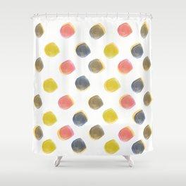 dot space dot Shower Curtain