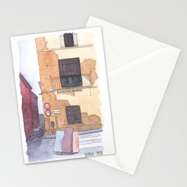 Late afternoon in Seville Stationery Cards