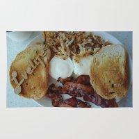 breakfast Area & Throw Rugs featuring Breakfast by Gurevich Fine Art