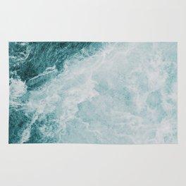 faded ocean Rug