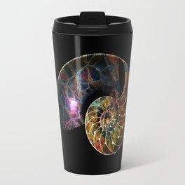 Fossilized Nautilus Shell Travel Mug