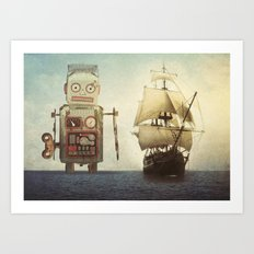 sailing takes me away... Art Print