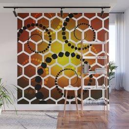 Honeycomb healing Wall Mural