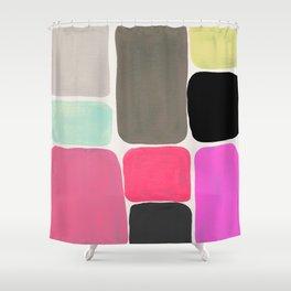 colour + pattern Shower Curtain
