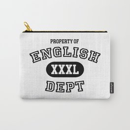 Property of the English Department Carry-All Pouch