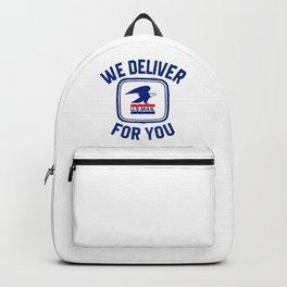 Usps We Deliver For You Backpack