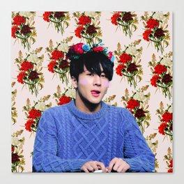 Flower Boy Ravi Canvas Print