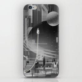 Space Garage iPhone Skin