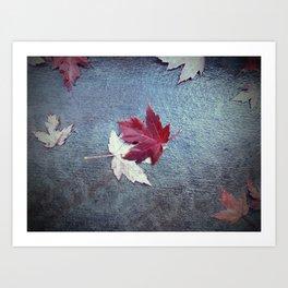 Fall Embrace Art Print