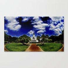 Jackson Square, dizzy Canvas Print