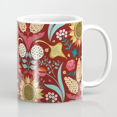 Florid Dreams Red Mug