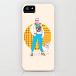 Henry the Hip iPhone Case