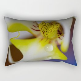 Drops of Orchid Rectangular Pillow