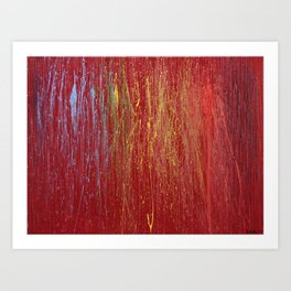 Rainbow for Abby Art Print