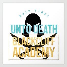 black cliff academy - an ember Art Print