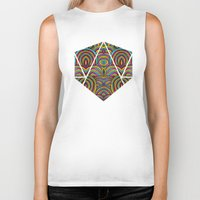 moroccan Biker Tanks featuring Moroccan Style by Pom Graphic Design