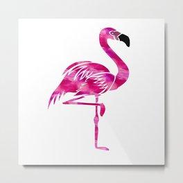 The Flamingo Metal Print
