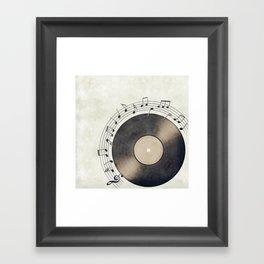 Vinyl Music Collection Framed Art Print