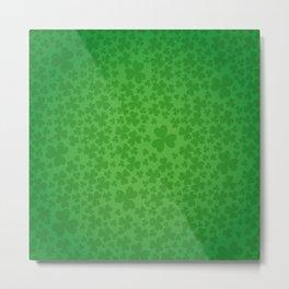 irish, ireland, shamrock, irish gifts women, luck of the irish, irish gift, three leaf clover Metal Print