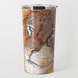 Colourful Lion Travel Mug