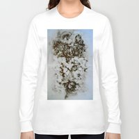 tea Long Sleeve T-shirts featuring Tea  by Jennifer Cooper