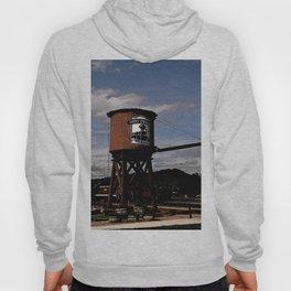 1880 Train Watertower Black Hills Abstract Hoody