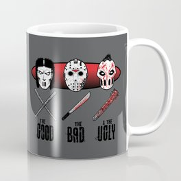 Hockey Mask Evolution Coffee Mug