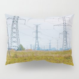 Landscape with power lines Pillow Sham