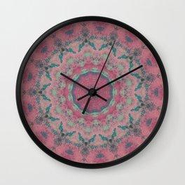 Fractalized Expressionism - II Wall Clock