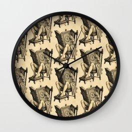 Ex Libris 'The Inveterate Reader' Wall Clock