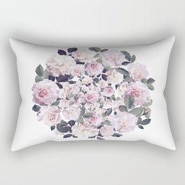 Beautiful Floral Theme - floral, flowers, flower, rose Rectangular Pillow