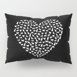 I Love Cats Pillow Sham