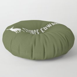 Deer: Prince Edward Island, Canada Floor Pillow