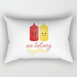 We Belong Together Rectangular Pillow