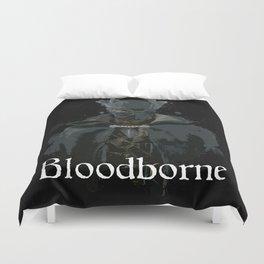 Bloodborne Hunter Splatter Duvet Cover