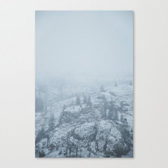 Rose Valley Lake III Canvas Print