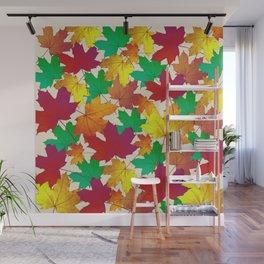 Maple Shades Wall Mural