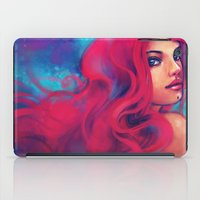 alicexz iPad Cases featuring Daughter of Triton by Alice X. Zhang