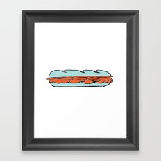 sub Framed Art Print